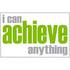 """I Can Achieve"" Poster"