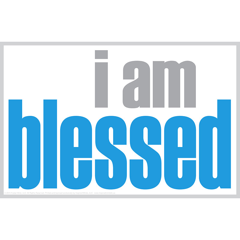 """I Am Blessed"" Notes, 20 Pack"