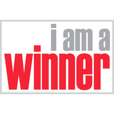 """I Am a Winner"" Notes, 20 Pack"