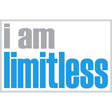 """I Am Limitless"" Poster"