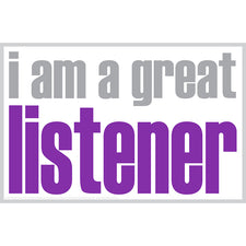 """I Am a Great Listener"" Notes, 20 Pack"