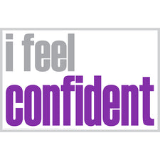 """I Feel Confident"" Magnet"