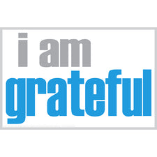 """I Am Grateful"" Notes, 20 Pack"