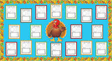 If I Had A Pet Turkey... - Thanksgiving Activity & Bulletin Board