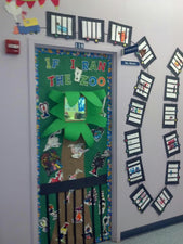 If I Ran The Zoo - Dr. Seuss Inspired Door Displays