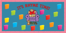 It's Rhyme Time! - Nursery Rhyme Bulletin Board