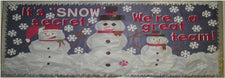 It's Snow Secret... Winter Classroom Bulletin Board Display