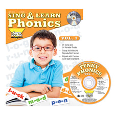 Sing & Learn Phonics, Vol. 1, Book with Audio CD