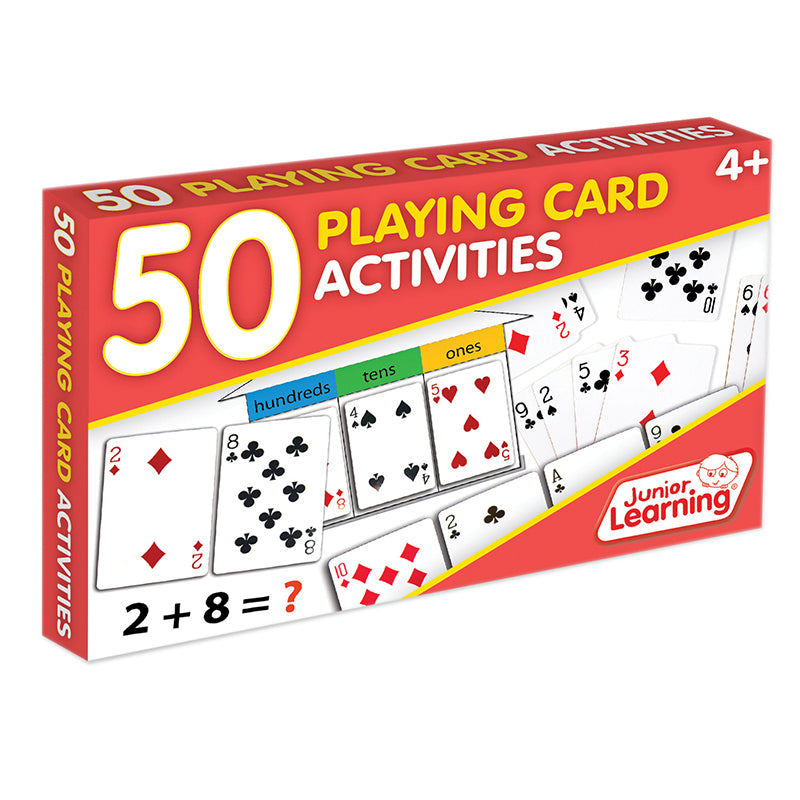 50 Playing Card Activities