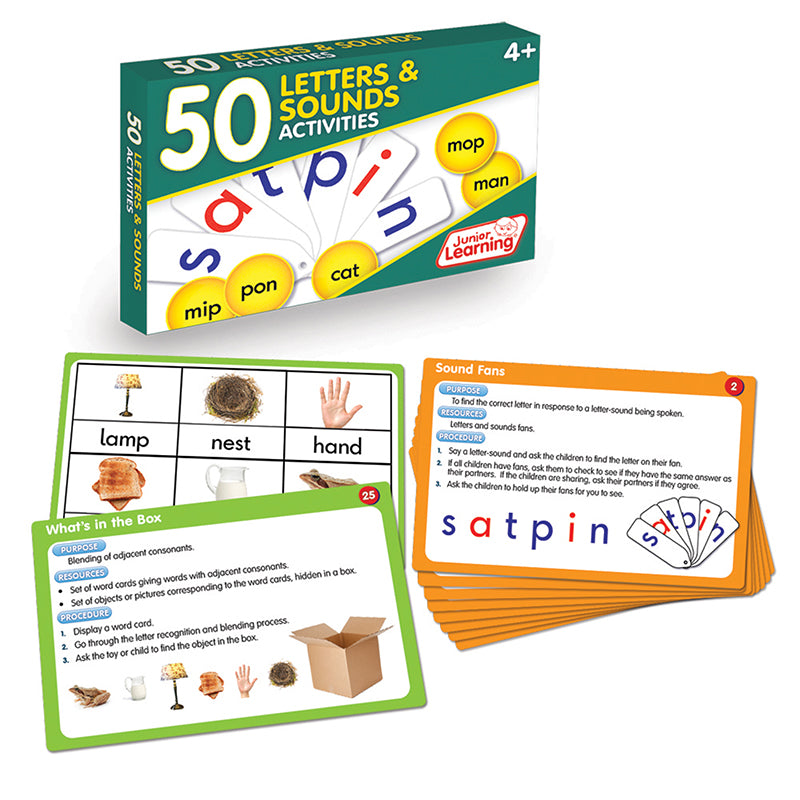 50 Letters and Sounds Activities