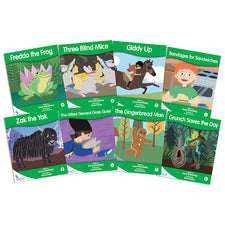 Fantail Books: Green Fiction Banded Readers, Levels F-G
