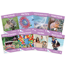 Fantail Books: Lilac Non-Fiction Banded Readers, Level A
