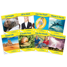 Fantail Books: Yellow Non-Fiction Banded Readers, Levels C-F