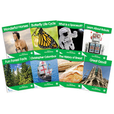 Fantail Books: Green Non-Fiction Banded Readers, Levels G-J