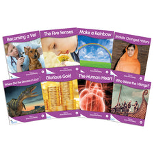 Fantail Books: Purple Non-Fiction Banded Readers, Levels K-M