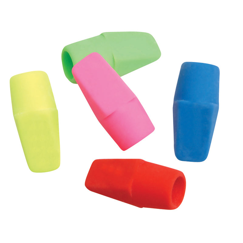 Cap Eraser Bright Colors 144/Pk