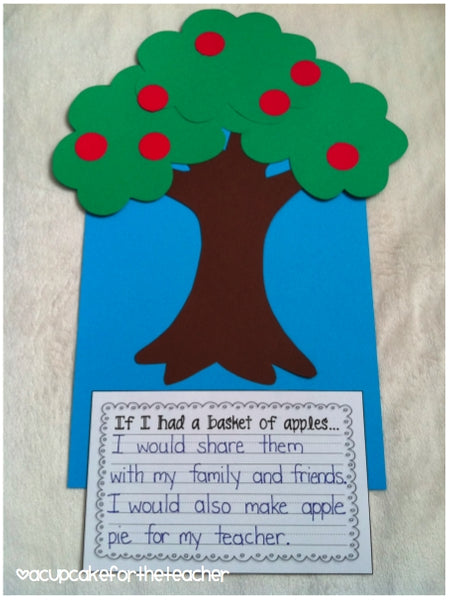 Johnny Appleseed Writing Prompts Craftivities Amp More