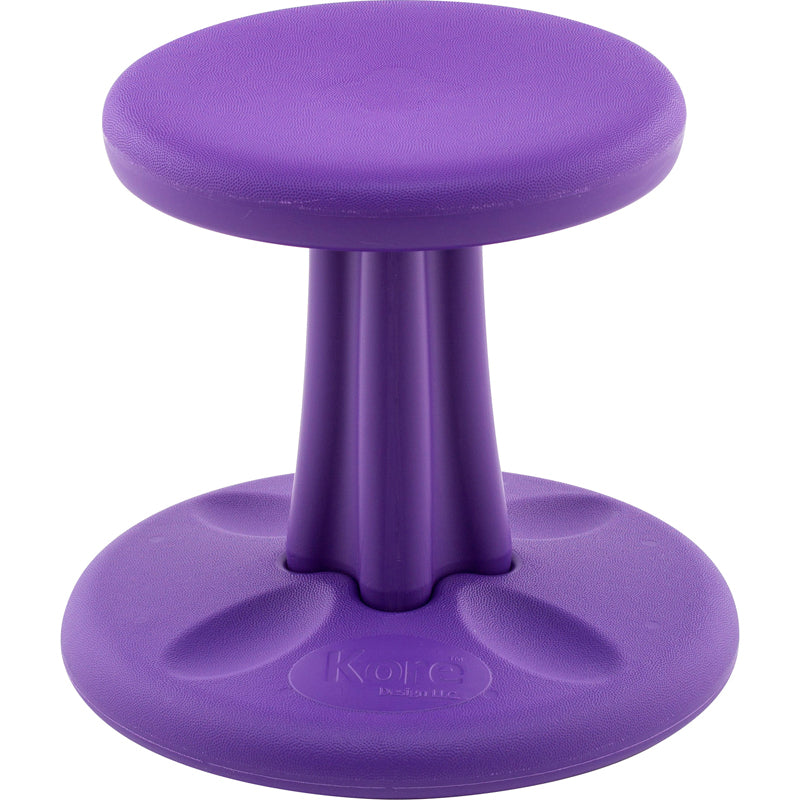 "Kore™ Preschool Wobble Chair, 12"" Purple"
