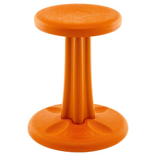 "Kore™ Junior Wobble Chair, 16"" Orange"
