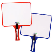Kleenslate Dry Erase Paddles 2Pk Rectangular Set