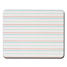 Rectangular Handwriting Replacement Dry Erase Sheets, Lined 8Pk