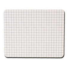 Rectangular Graph Replacement Dry Erase Sheets, 6 Pk