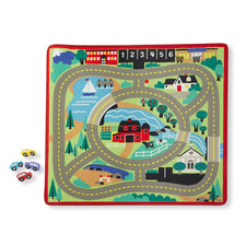 "Round the Town Road Rug & Car Set, 39""L x 36""W"