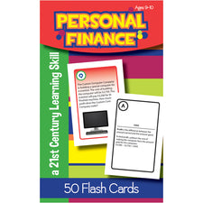 Personal Finance Flash Cards, Ages 9-10