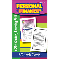 Personal Finance Flash Cards, Ages 11-12
