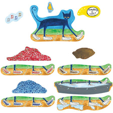 Pete the Cat I Love My White Shoes Flannelboard Set