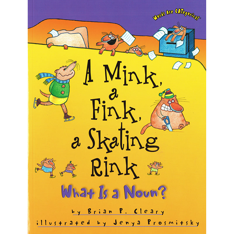 A Mink, a Fink, a Skating Rink - What Is a Noun?
