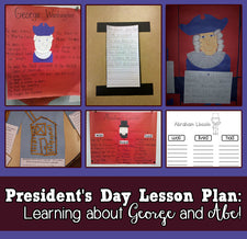 Learning About George & Abe - A President's Day Lesson Plan!