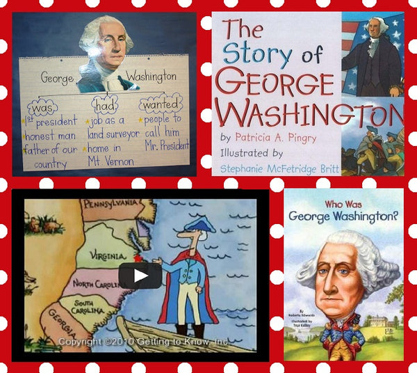Learning About George Washington Supplyme