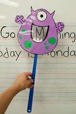 Letter Monster Swatter FREEbie!