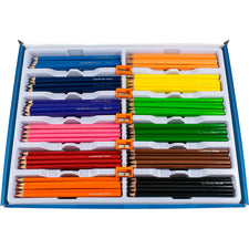 Triangular Colored Pencils School Pack