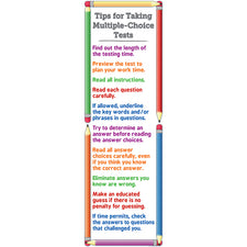 Tips for Taking Multiple-Choice Tests Colossal Poster