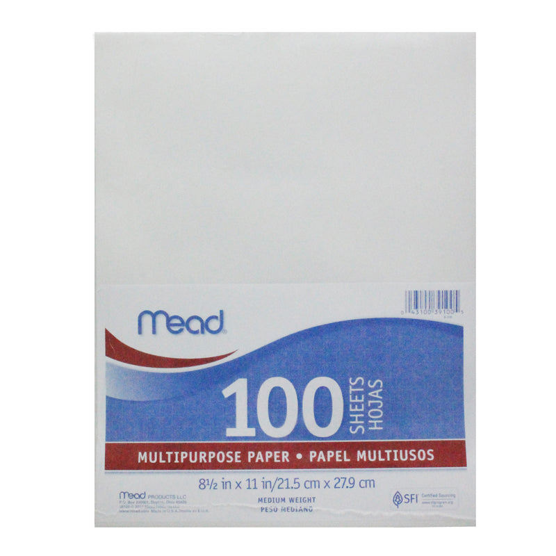 Paper Typing 8 1/2 x 11 100 Count