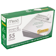 Press It Seal It No. 6.75, 55 Count Security Envelopes