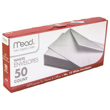 Envelopes Plain 10Lb 50 Count