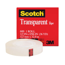 Tape Transparent Film 1/2 x 1296