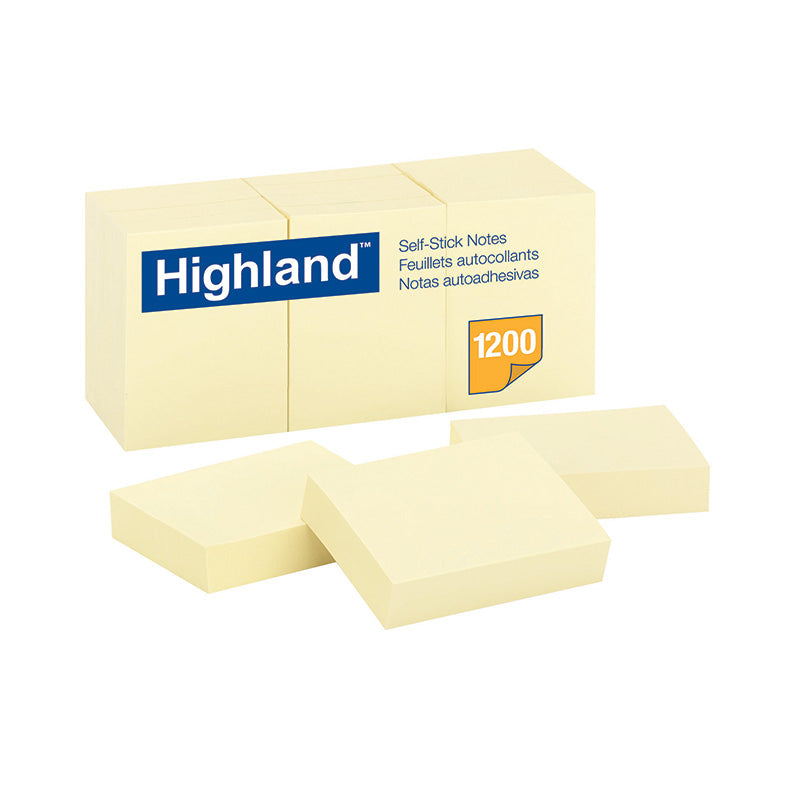 Notes Highland Yellow 1 1/2 x 2