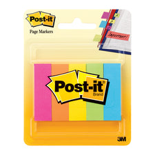 PG Markers Post-It 5 Pads Per Pack, Assorted Neon 591 x 1969