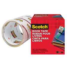 3M Scotch Transparent Bookbinding Tape 4V x 15 Yards