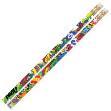 Super Duper Heroes Pencil, 12 Pack