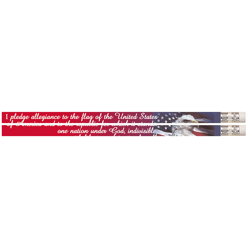 America's Pledge Pencils, 12 Pack