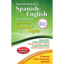 Merriam-Webster's Spanish-English Dictionary, Hardcover