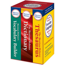 Merriam-Webster's Everyday Language Reference Set (Set of 3)
