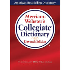 Merriam Websters Collegiate Dictionary 11th Edition, Laminated