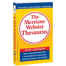 Merriam Websters Thesaurus Paperback