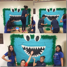 """GROWL If You Love The Book Fair!"" Monster Themed Book Fair"